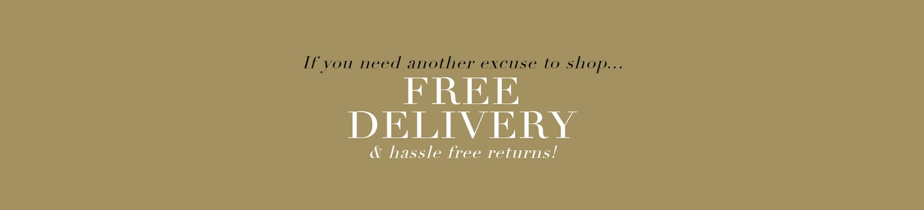 Free Delivery Over £39.99