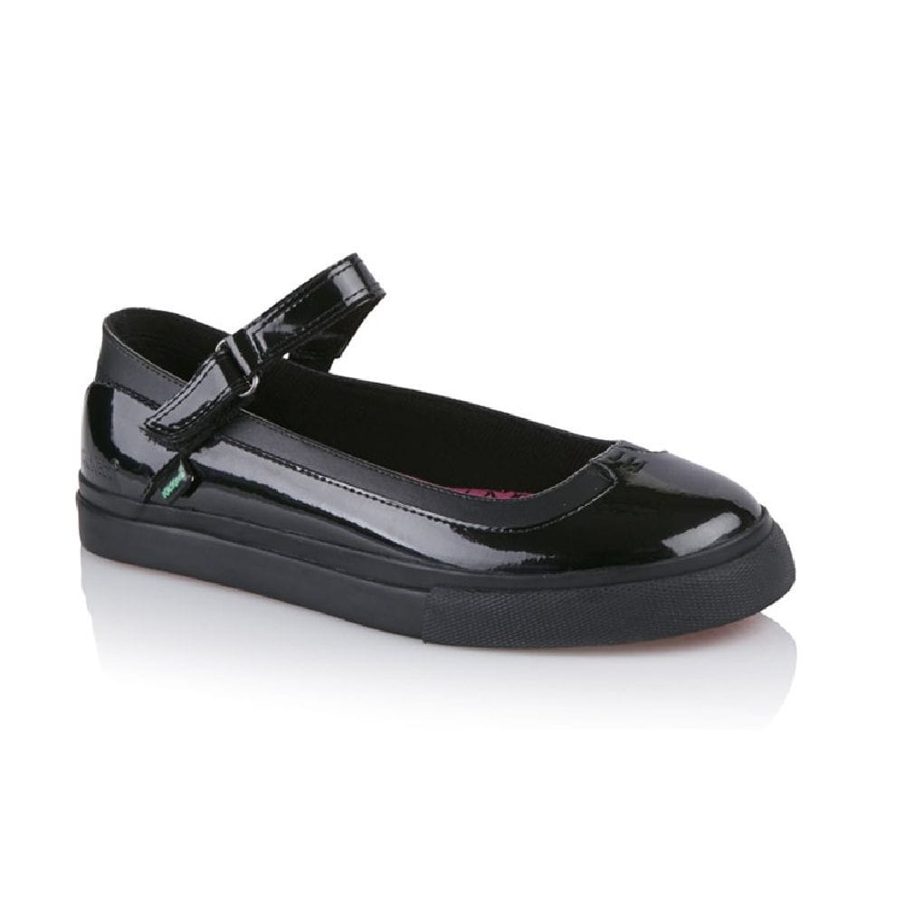 buy girls kickers school shoe tovni mary jane strap in patent