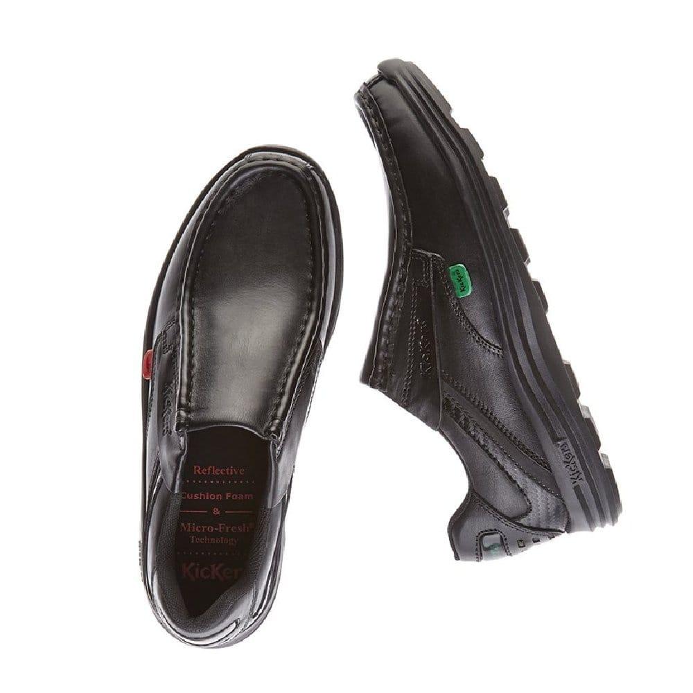 buy boys kickers reasan slip on school shoe junior and