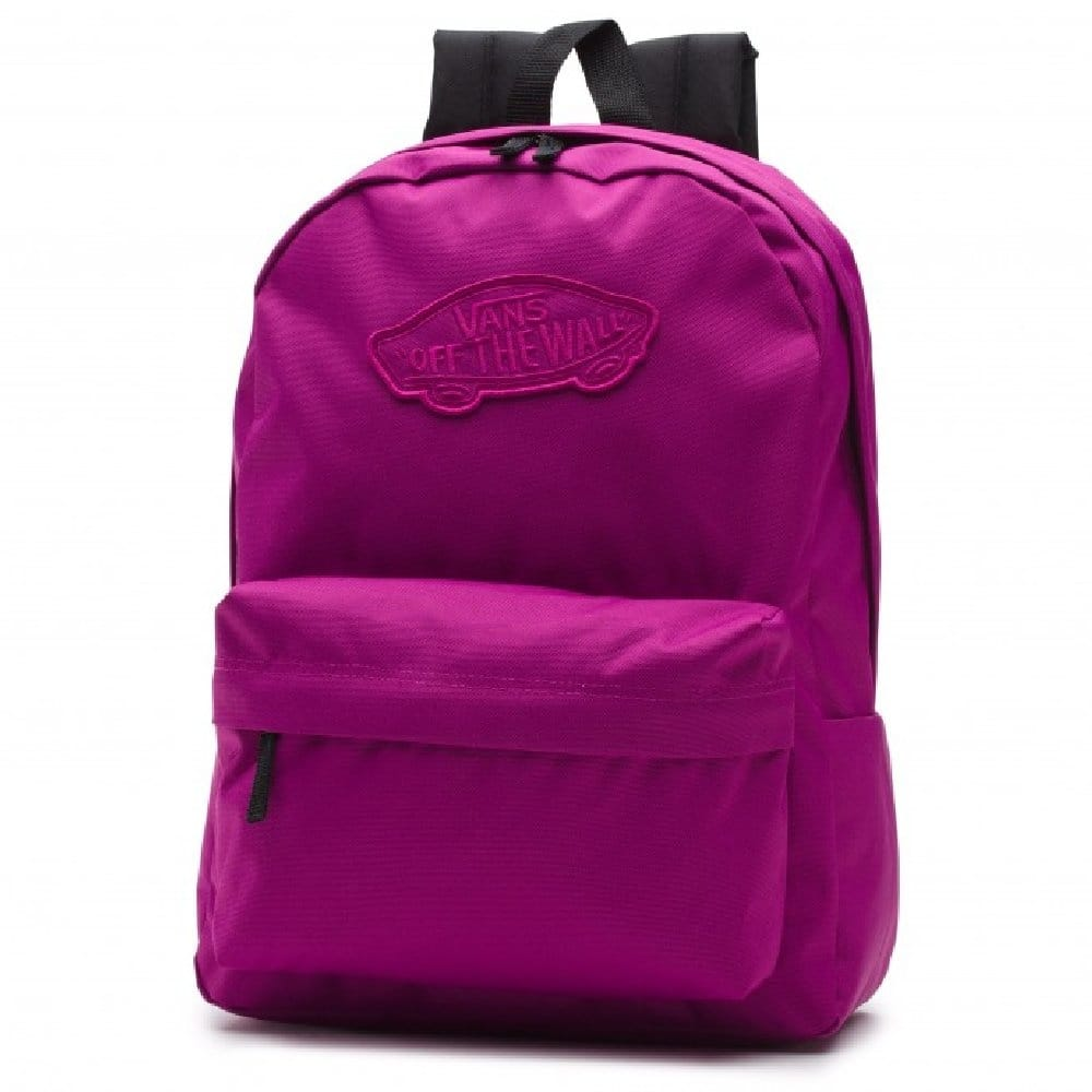 Vans Realm Backpack School Bag Deep Orchid