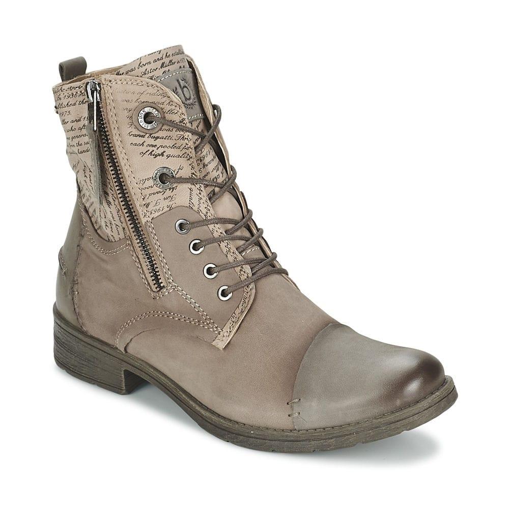 bugatti j4737 pr5g taupe ankle boot millars shoe store