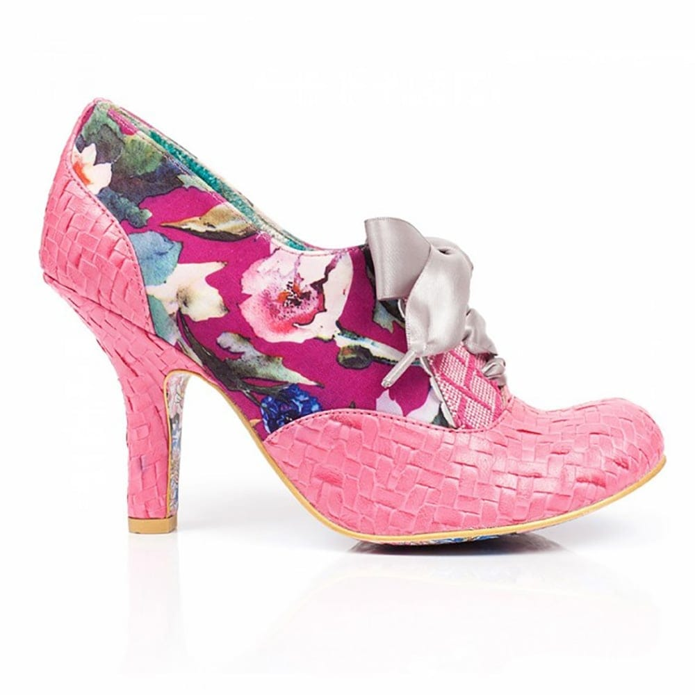 irregular choice quillglimmer pink millars shoe store