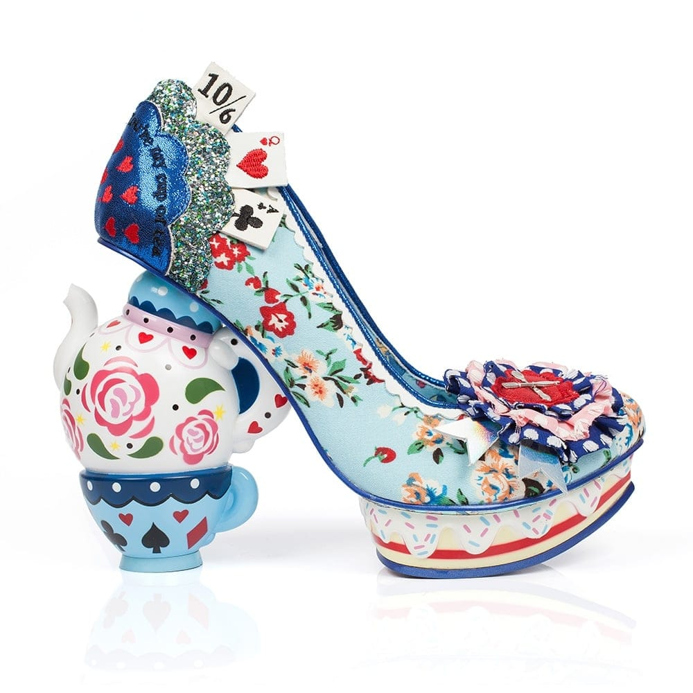 irregular choice one lump or two millars shoe store irregular alice. Black Bedroom Furniture Sets. Home Design Ideas