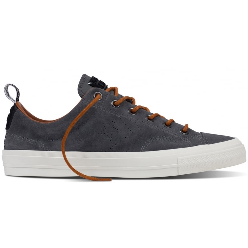 converse star player grey suede
