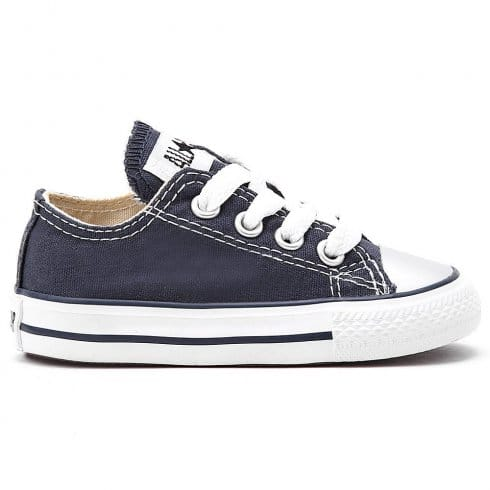 Converse Junior Navy All Star Lo Ox Unisex