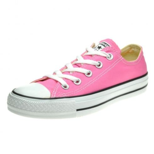 Converse Womens Pink All Star Chuck Taylor Lo Sneaker