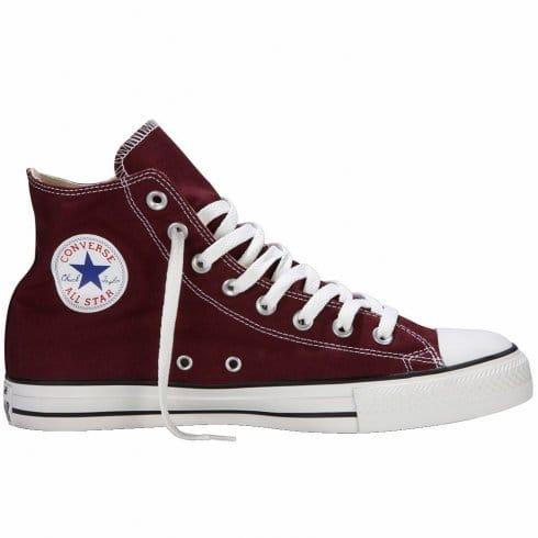 Converse Unisex Maroon Chuck Taylor All Star Hi Top Sneaker
