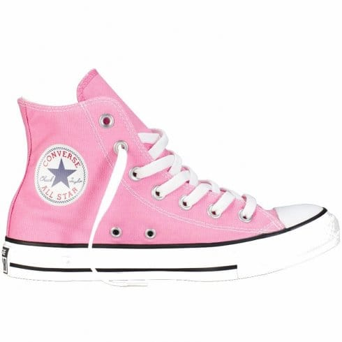 Converse Womens Pink Chuck Taylor All Star Hi Top Trainer Boot