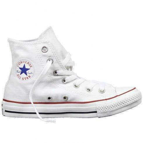Converse Adult Chuck Taylor Hi White -Classical Hi Top All Star Boot