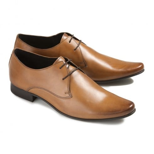 Ikon Mens Arnie Pointed Shoes - 1856 - Tan