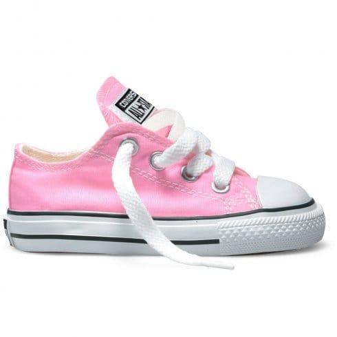 Converse Kids Chuck Taylor All Star Ox Trainers - 3J238 / 7J238 - Pink