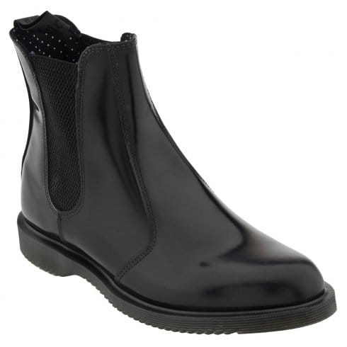 Dr. Martens Dr Matens Flora Ankle Boots - Black- 14649001