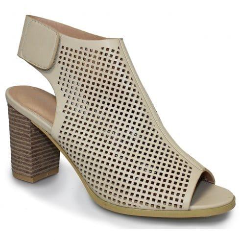 Biege Heeled Shoes