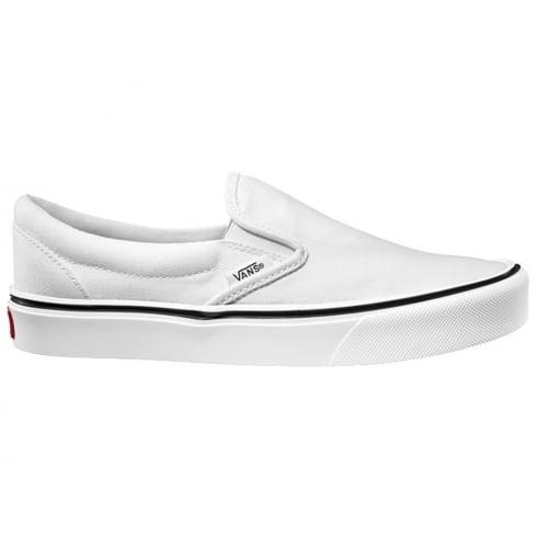 Vans Unisex Slip On Lite Trainers - White