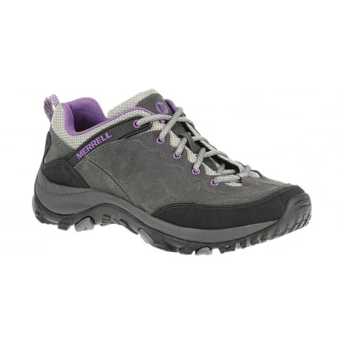 Merrell Womens Merrell Salida Trekker Shoes - Castle Rock/Purple