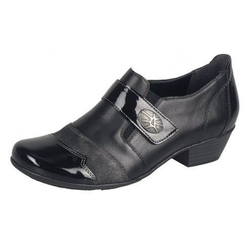 Remonte Women's Smart Shoes in Black -D7333-01