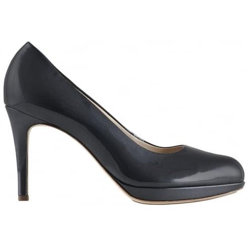 Hogl Steel Grey Patent High Heels