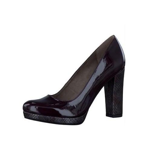 Tamaris Womens Vine Patent/Struc Platform Heels- 22435-27 519