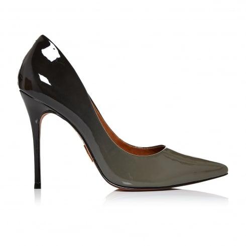 Moda In Pelle Womens Cristina Stiletto Heel Court Shoes - Grey