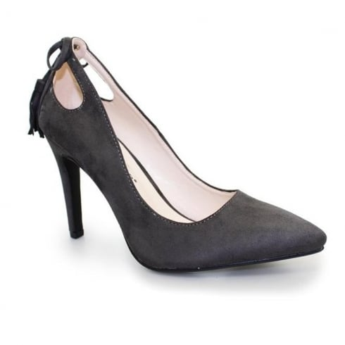 Lunar Carmel Court Shoes - Grey FLH836