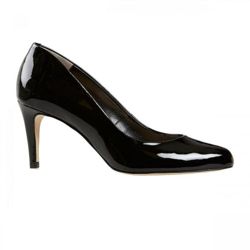 Van Dal Shoes Van Dal Albion Leather Court Heels - Black Patent