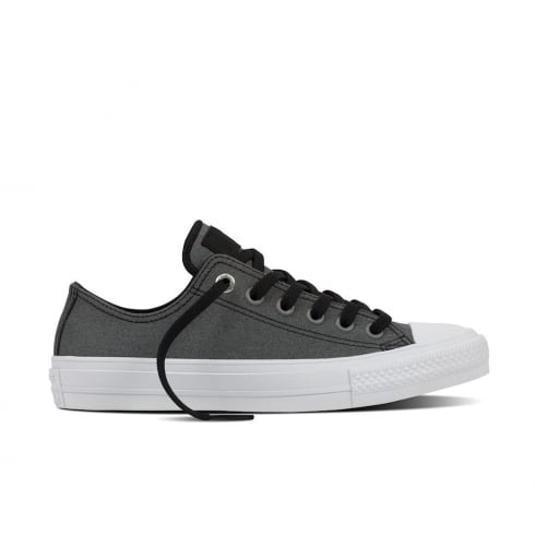 Converse Chuck II Two-Tone Leather Trainers - Grey - 154030C