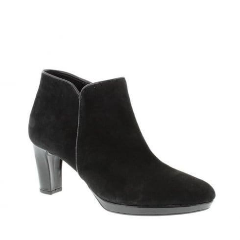 Gabor Danehill Ladies Modern Ankle Boots - Black - 56.670.47