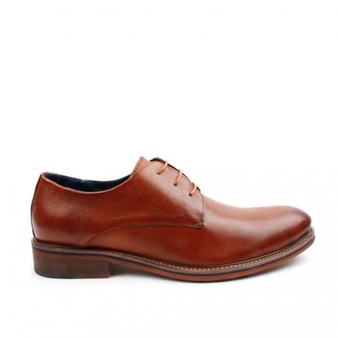 Morgan & Co Laced Brogue Mens Shoes - Tan/Brown - MGN0350