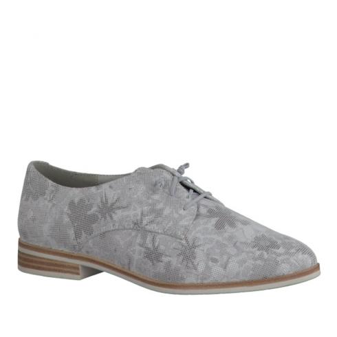 Tamaris Womens Brogues Shoes - Grey - 23204-28