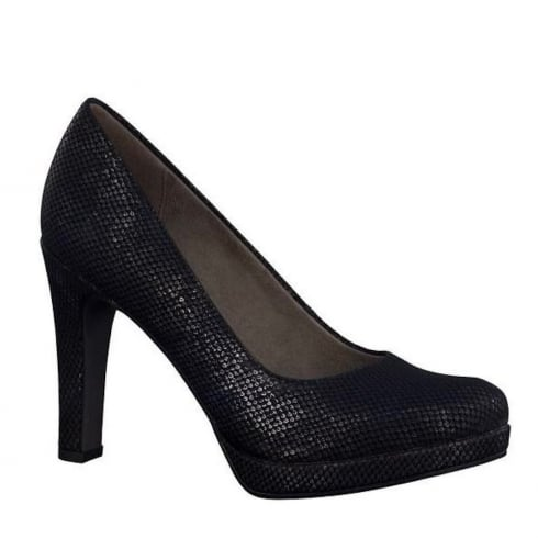Tamaris Womens Court Heels - Black - 22426-28 006