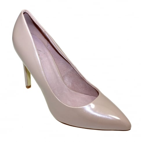 Lunar Womens Powell Pointed High Heels - Beige - FLC023BG