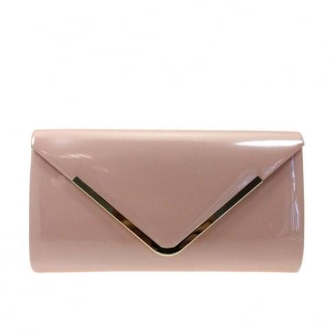 Lunar Powell Occasion Patent Handbag - Pink - ZLC023