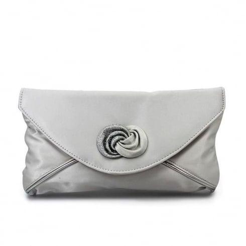 Lunar Womens Occasion Ripley Bag - Silver