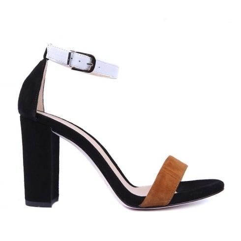 Unisa Waile Suede Heeled Sandal - Multi Black - Waile