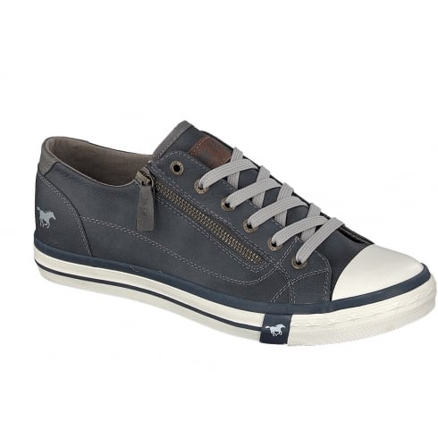 Mustang 4096-301 Mens Trainer - Navy