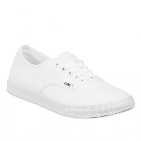 Vans Womens Authentic True White Sneakers - VEE3W00