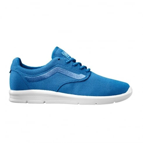 Vans Mesh Iso 1.5 Womens Blue Lace Up Shoes