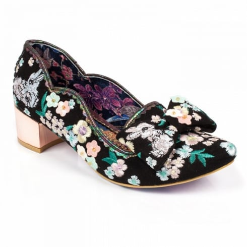 Irregular Choice Bunny Hop - Black