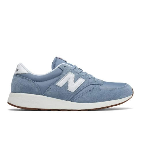 New Balance Womens Blue Sky Suede 420 Sneakers