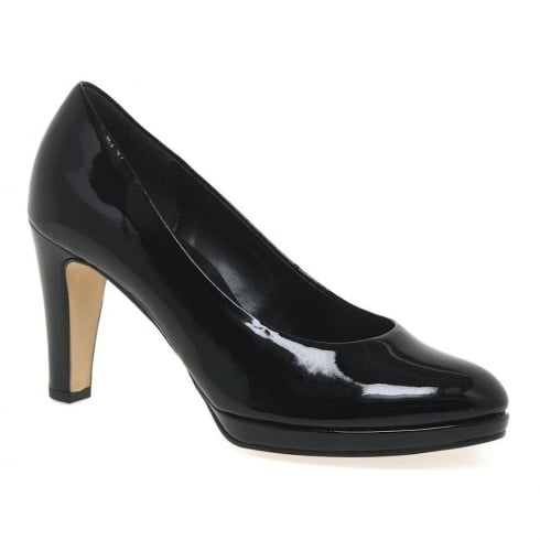 Gabor Splendid Womens Black High Heel Court Shoes - 51.270