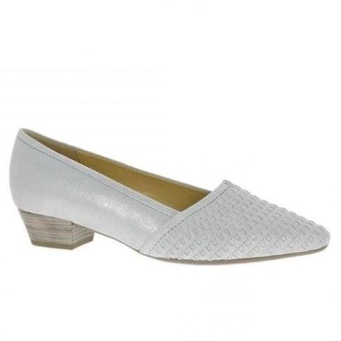 Gabor Azalea Womens Low Heeled Grey Court Shoes