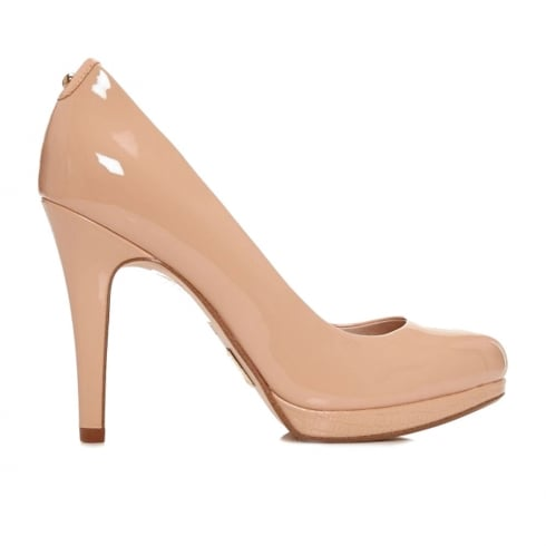 Moda In Pelle Civello Nude Court High Heels