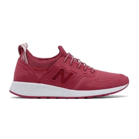 New Balance Womens 420 REVlite Red Slip-On Trainers