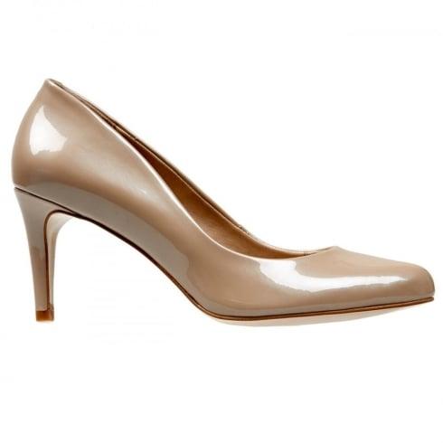 Van Dal Shoes Van Dal Albion Powder Pearlised Patent Court Heels