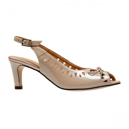 Van Dal Shoes Van Dal Surry Powder Pearlised Patent Slingback Sandals