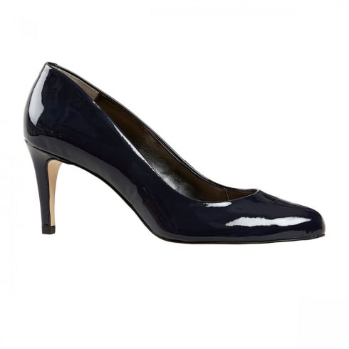 Van Dal Shoes Van Dal Albion Midnight Patent Navy Court Heels