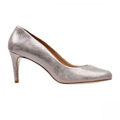 Van Dal Shoes Van Dal Albion Bamboo Metallic Court Heels
