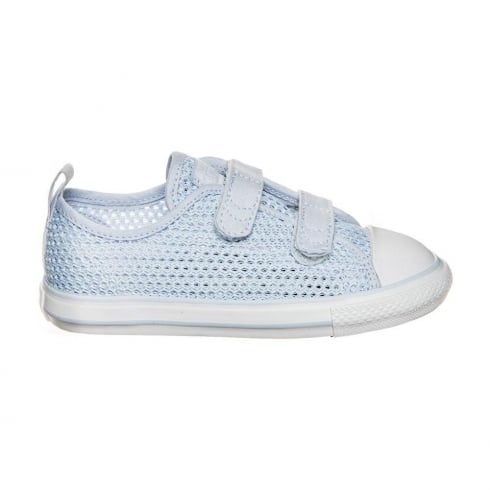 Converse Chuck Taylor All Star 2V OX Baby Blue Velcro Infant  Sneakers