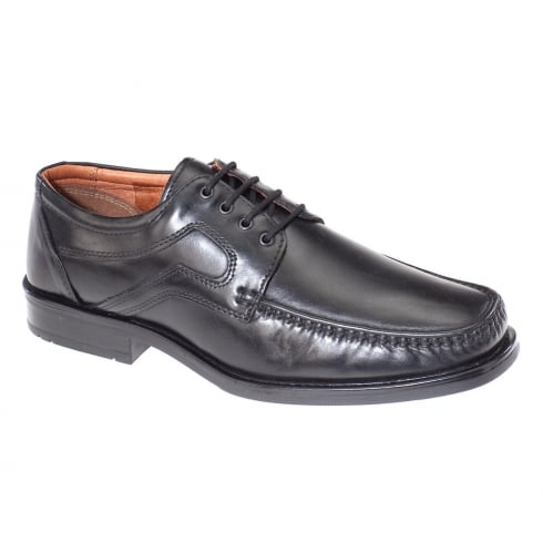 Dubarry Mens Drake Black Leather Lace Up Shoes