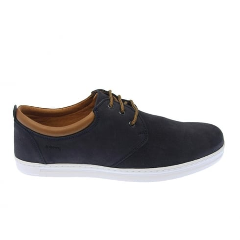 Dubarry Mens Baxtor Lace Up Navy Leather Casual Shoes